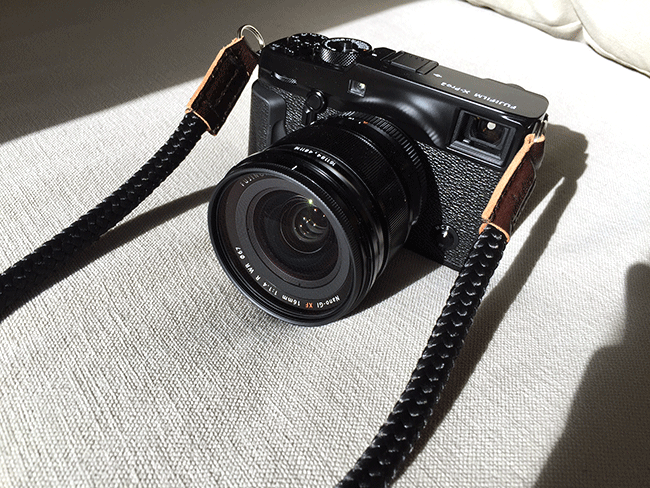 X-pro2 and sailor strap camera strap