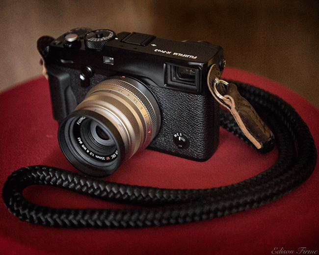X-Pro 2 camera strap by sailor strap