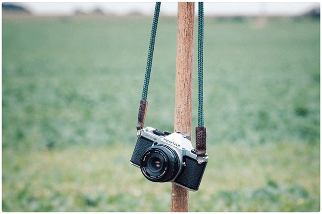 pentax me super with sailor strap skinny jimmy