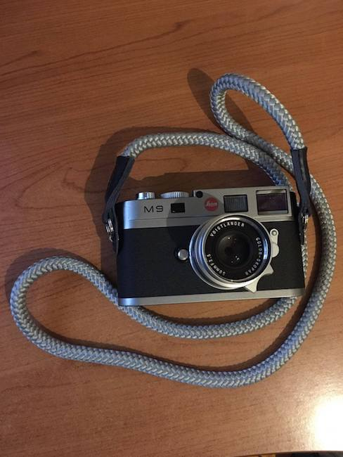 Leica m9 Sailor Strap