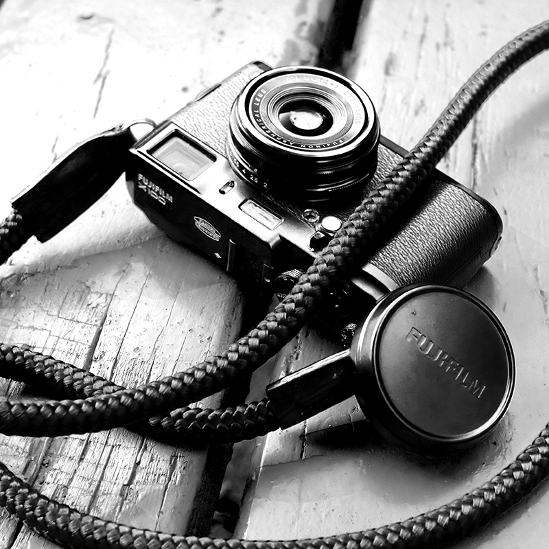 Fujifilm x100s camera owned by carrol with our blacknblack lieutenant strap