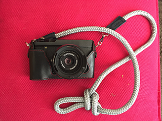 Fujifilm xe-2 with sailor strap camera strap