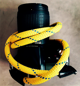 nikon dslr with sailor strap camera strap