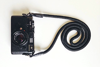 Leica M6 with sailor strap hand crafted camera strap