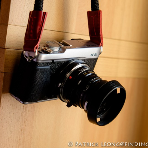 findingrange review of sailor strap camera strap