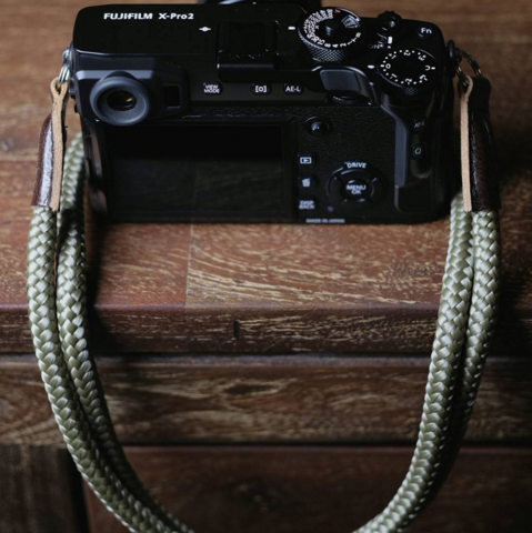 Fujifilm x-pro 2 with LT.Olive camera strap from sailor strap