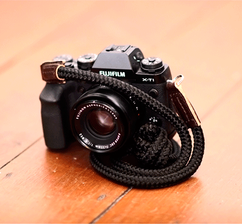 fujifilm X-t1 with sailor strap