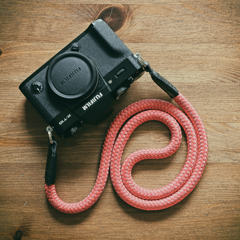 Fujifilm x-t10 handmade strap from sailor strap