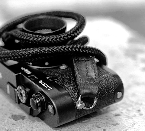 Leica M-P with Skinny Jimmy from Sailor Strap