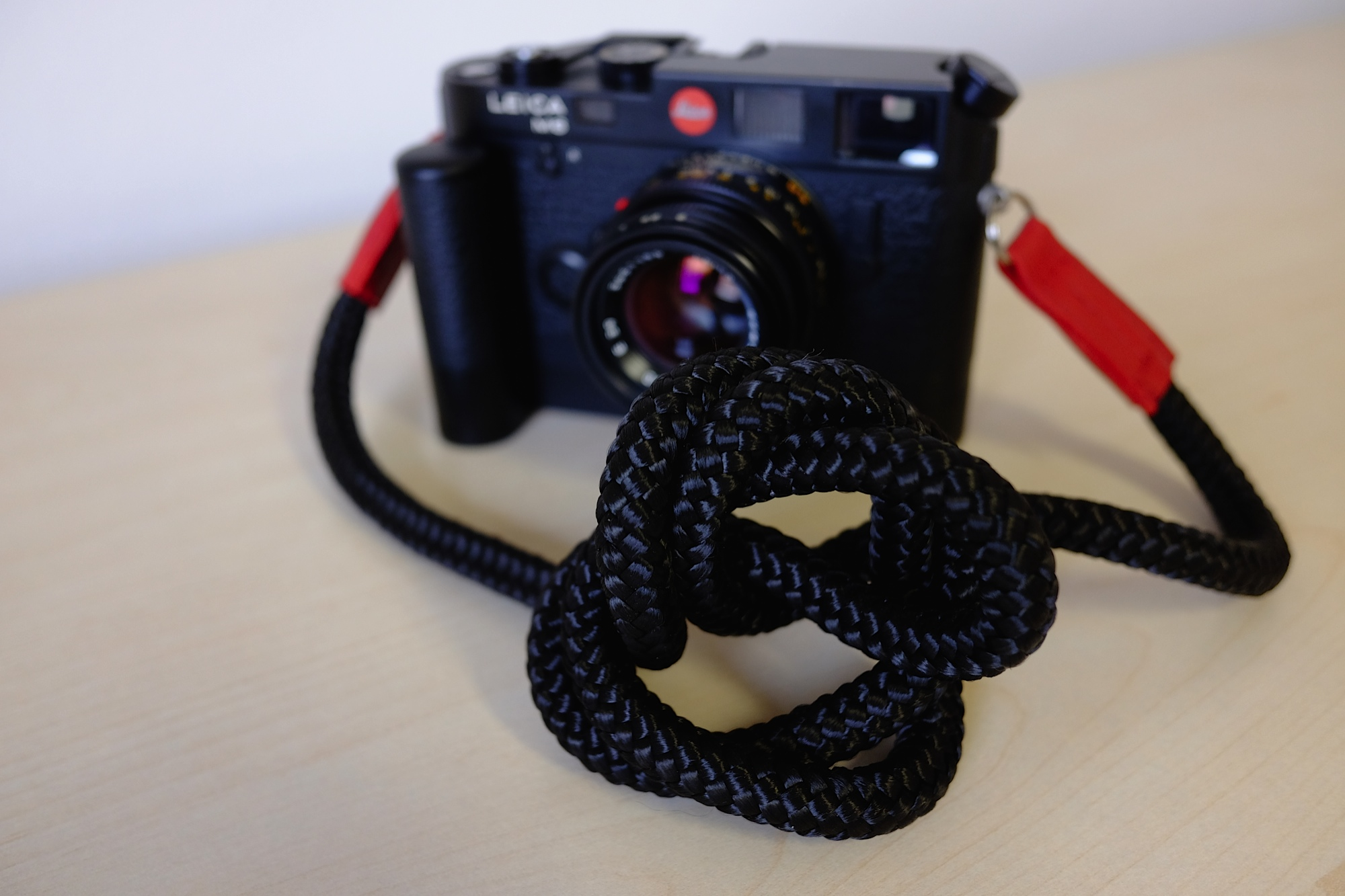 Sailor Strap on a Leica
