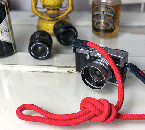 X100T With a Sailor Strap