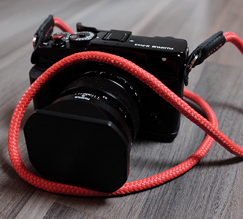 X-pro2 Fujifilm with Sailor Strap