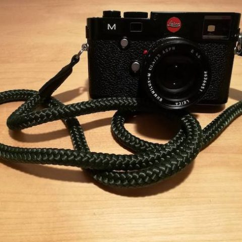 Leica M camera strap from sailor strap