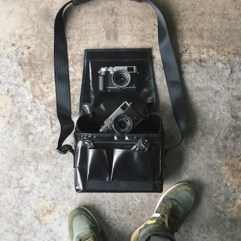 X-pro2 Graphite handmade camera bag.