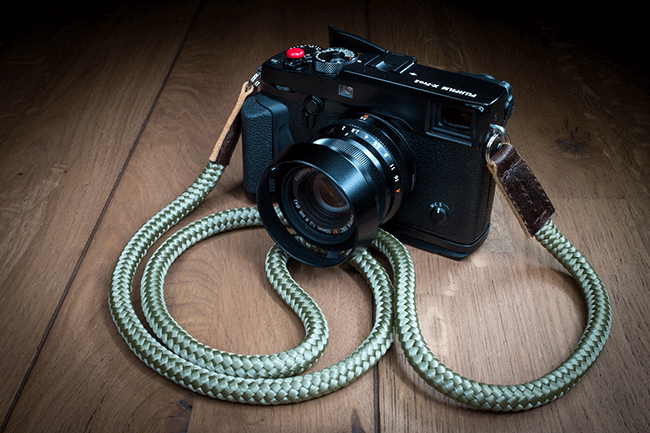 Fujifilm X-pro2 hand crafted camera strap