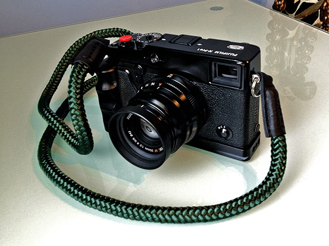 X-Pro1 rope camera strap